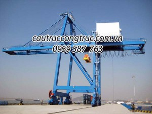 cầu trục cảng container 10T