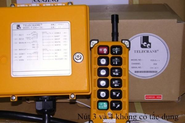 Điều khiển Telecrane 12 nút F23A++