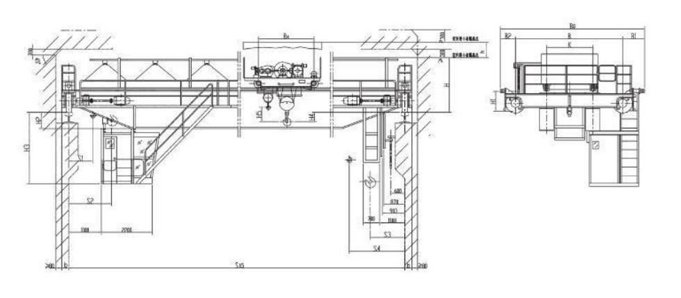 cấu tạo và nguyên lý hoạt động của cầu trục dầm đôi