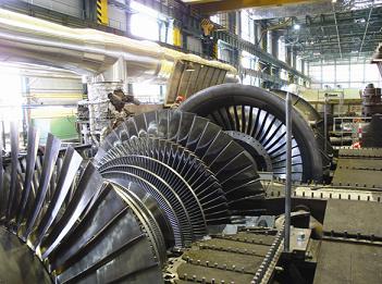 Thiết kế tuốc bin tâm trục đối với công nghiệp điện